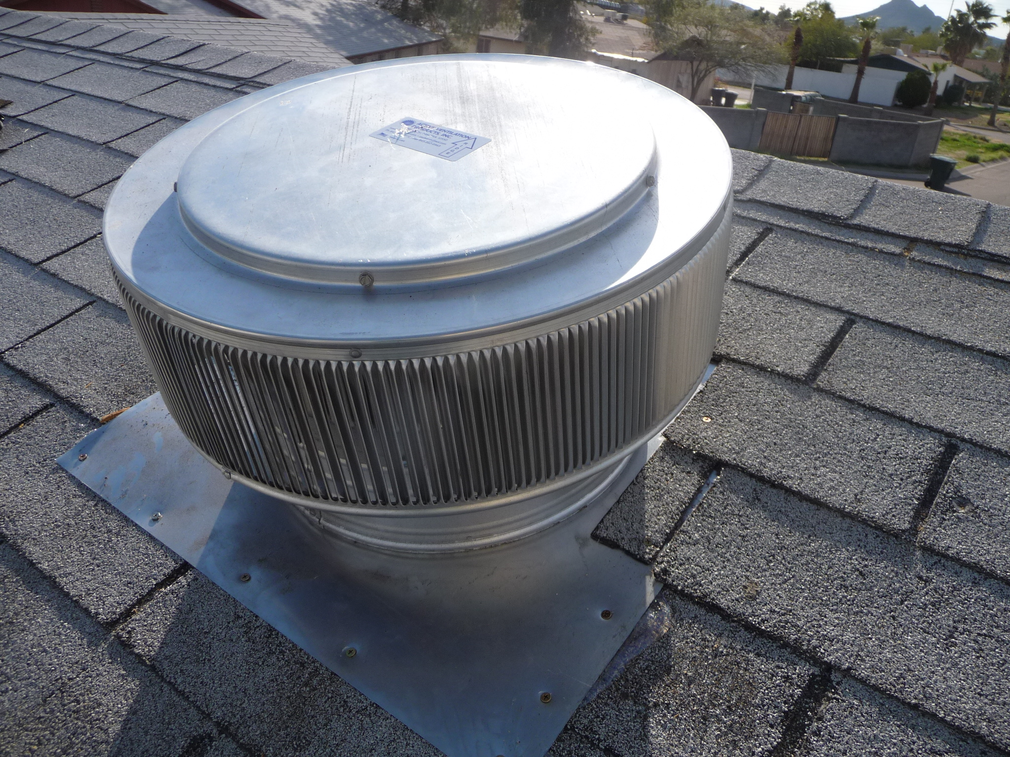 Roof Top Vent : Roof vents aluminum insulvent one way breather vent
