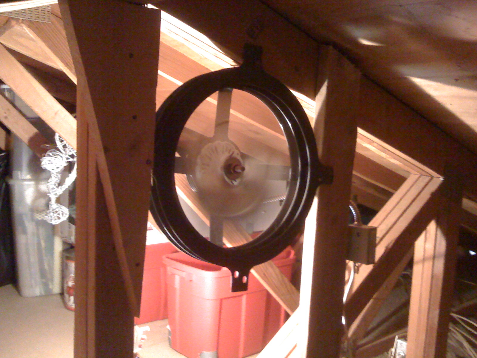 Attic Exhaust Fan Vent : Attic venting science and solutions horizon energy