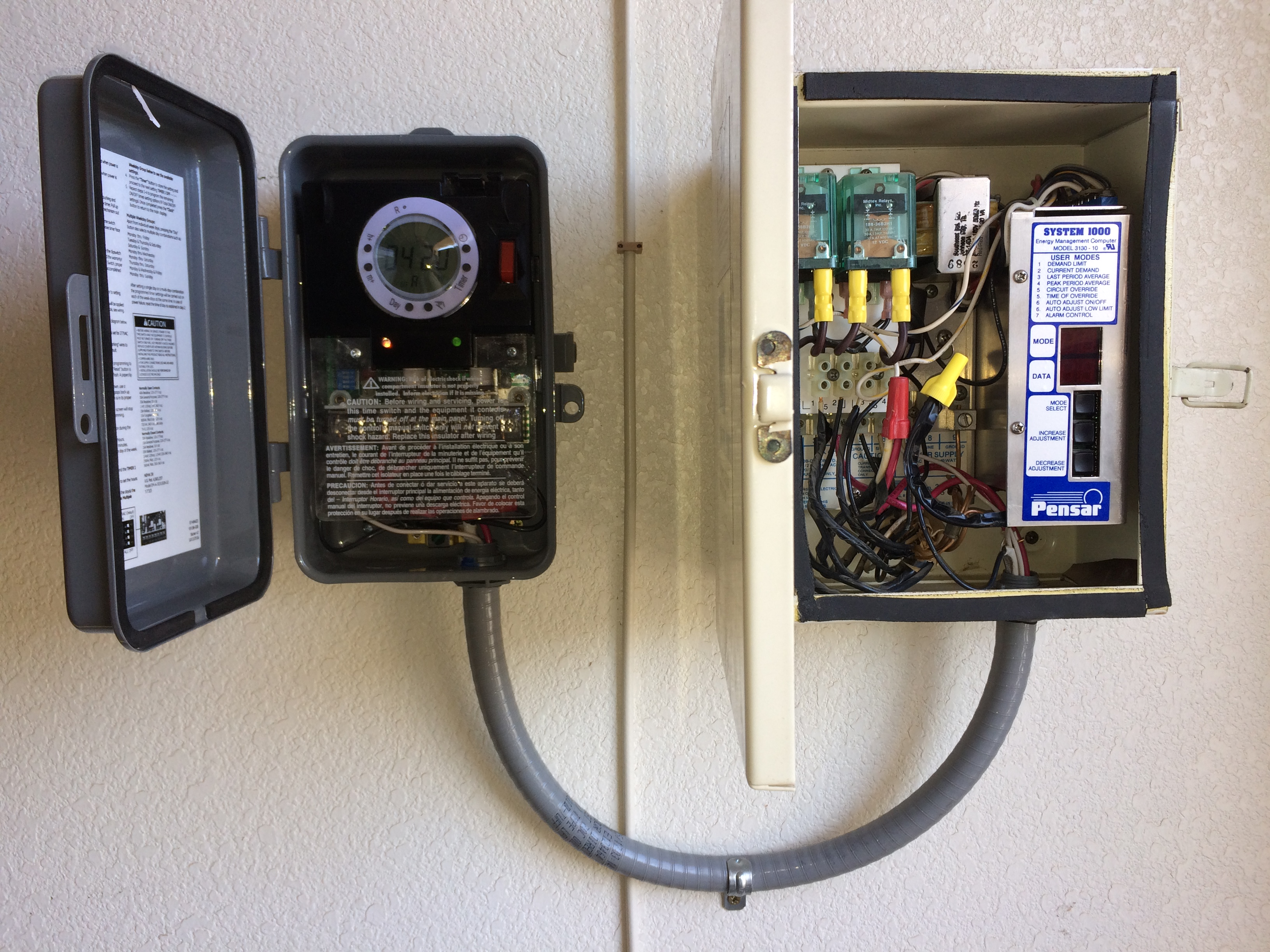 Aps Load Controller Timer How To Install A New Circuit At The Home Depot We Digitial Programmable Which Will Match Rates And Same Time Keep Water Heater Off During On Peak Hours