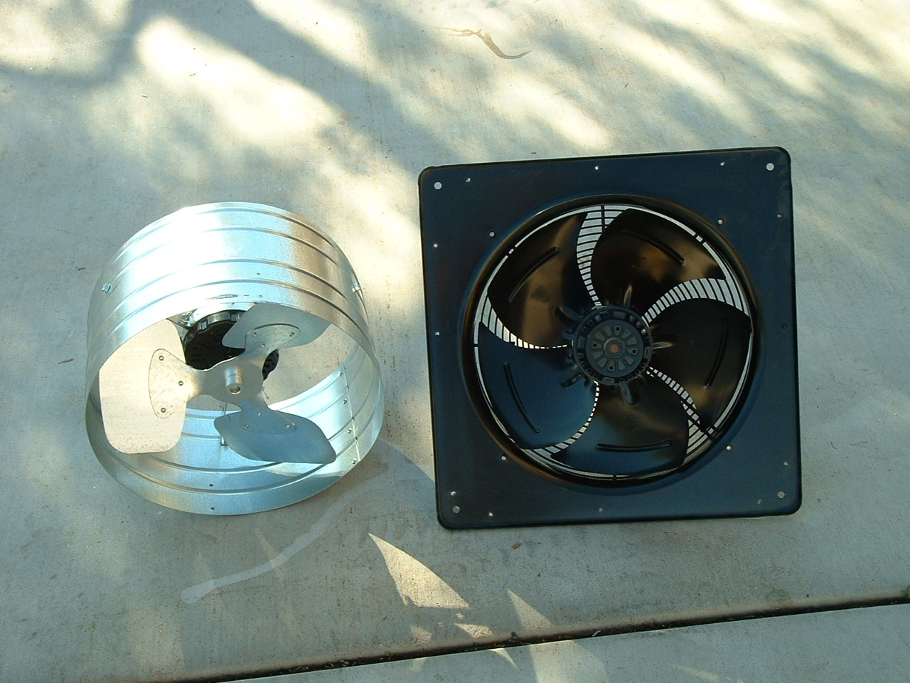 Attic Ventilation Fans : Attic fan